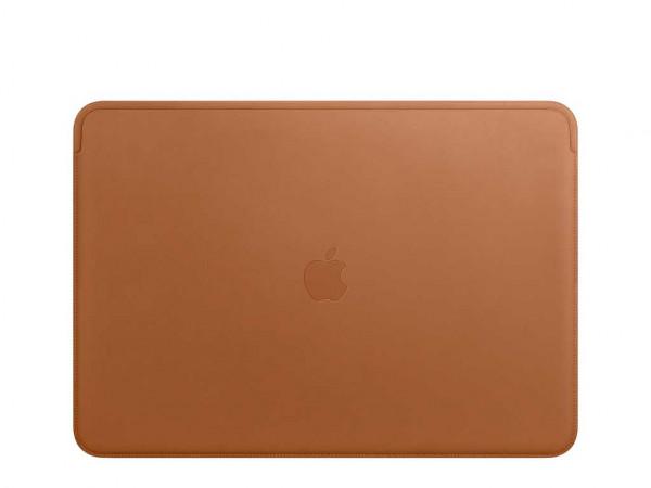 """Apple Lederhülle MacBook Pro 13"""" sattelbraun"""