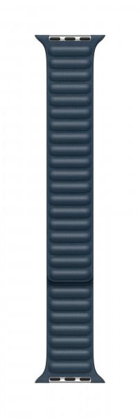 Apple Lederarmband mit Endstück für Watch 40mm baltischblau L