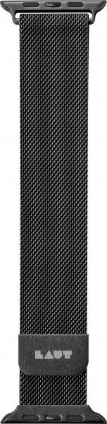 LAUT Steel Loop Apple Watch Strap 42/44 mm schwarz