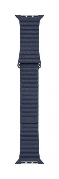 Apple Loop Lederarmband für Watch 44mm taucherblau M