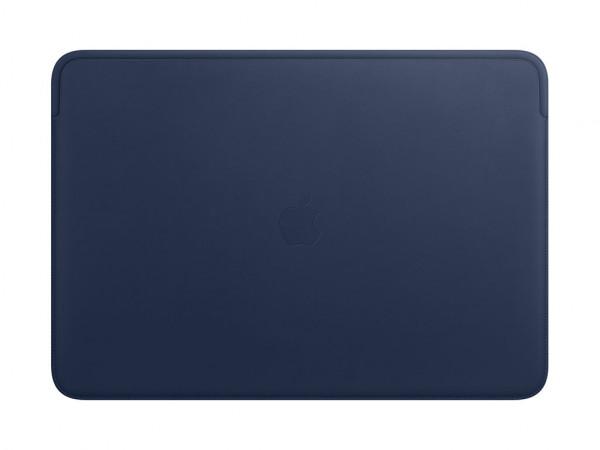 Apple Lederhülle für MacBook Pro 16 mitternachtsblau