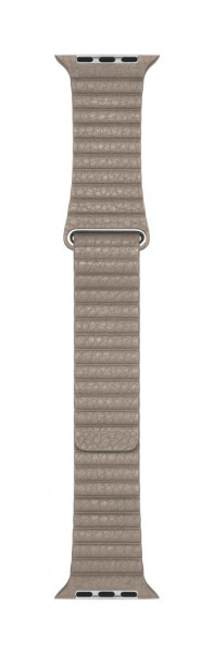 Apple Loop Lederarmband für Watch 44mm stein L