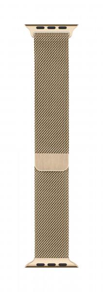 Apple Milanaise Armband für Watch 44mm gold
