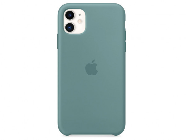 Apple Silikon Case iPhone 11 kaktus