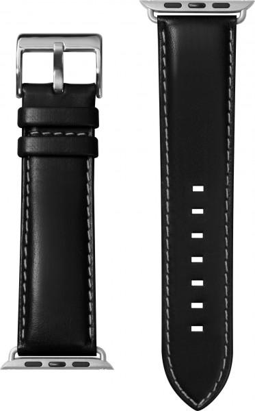 LAUT Oxford Apple Watch Strap 42/44 mm schwarz