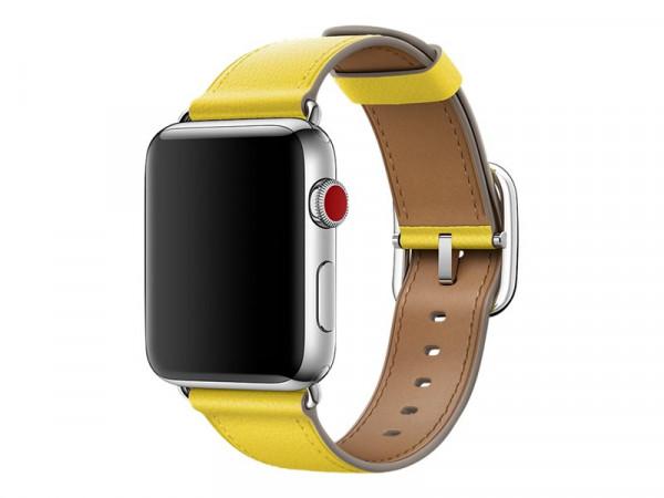 Apple Classic Armband für Watch 42mm gelb