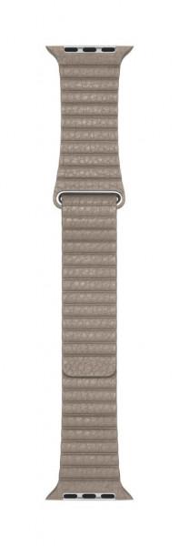 Apple Loop Lederarmband für Watch 44mm stein L