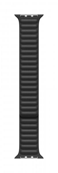 Apple Lederarmband mit Endstück für Watch 44mm schwarz S