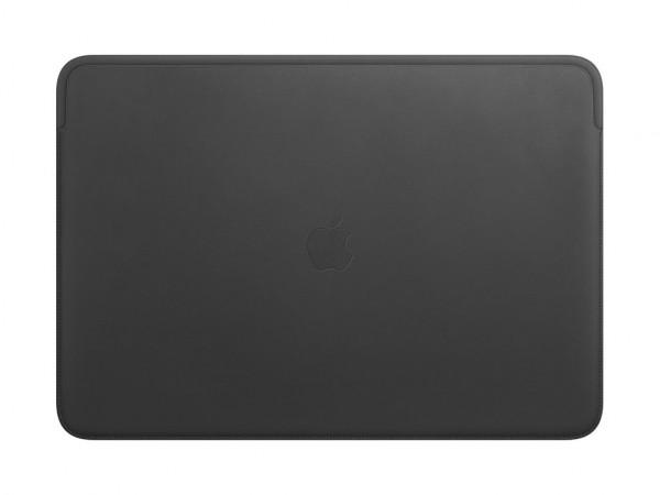Apple Lederhülle für MacBook Pro 16 schwarz