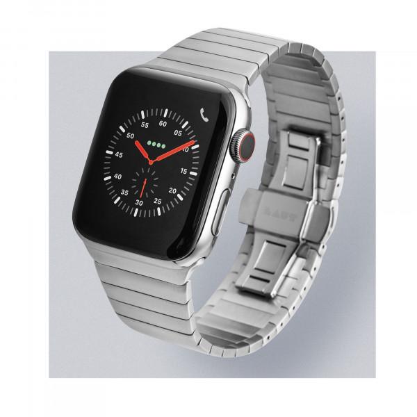 LAUT Links Apple Watch 42 / 44 mm silber